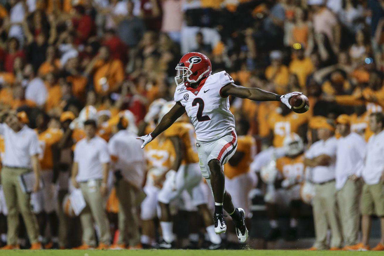 Georgia v Tennessee