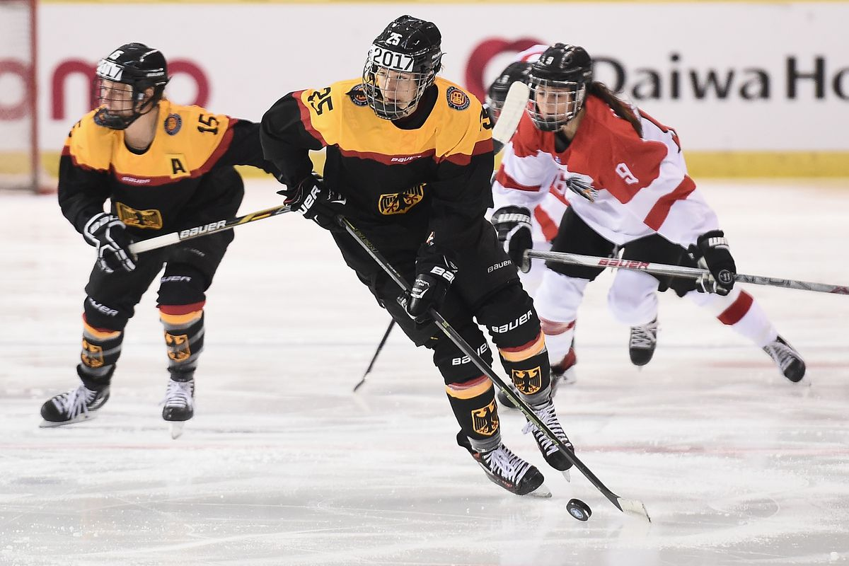 Germany v Austria - Women's Ice Hockey Olympic Qualification Final - Group D