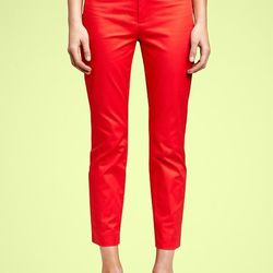 """The Gap: Slim cropped refined pants, $49.95. Available <a href=""""http://www.gap.com/browse/outfit.do?cid=62659&oid=OUT18202"""">here</a>."""