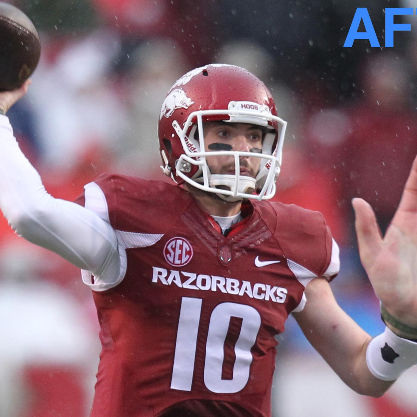 Arkansas QB Brandon Allen actually grew his hands for the NFL ...