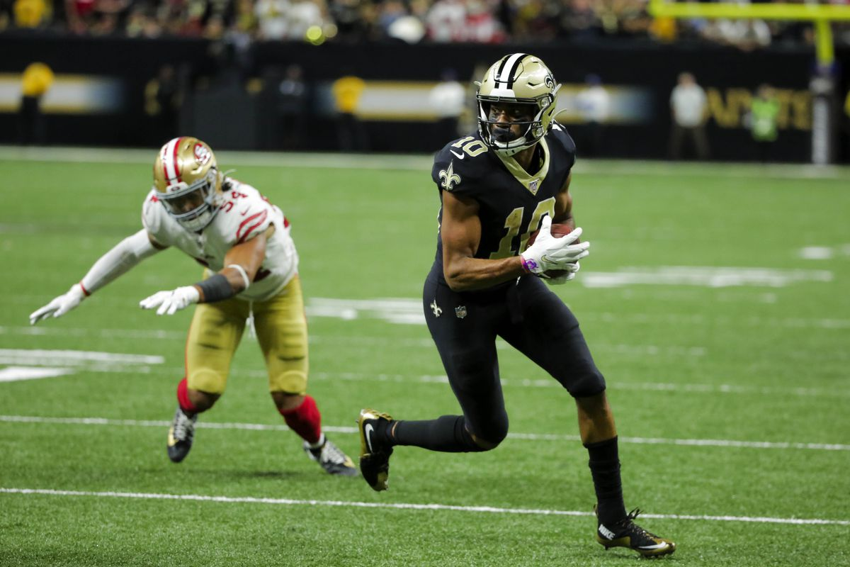 Nfl Alum Knights Week 14 Tre Quan Smith Scores Late Td In Game Of The Year Black Gold Banneret