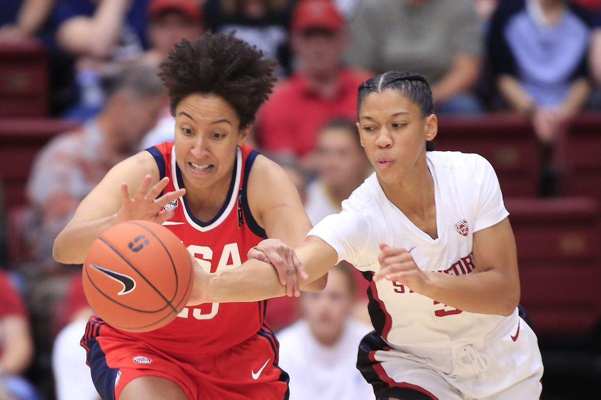 USA Women's National Team v Stanford University