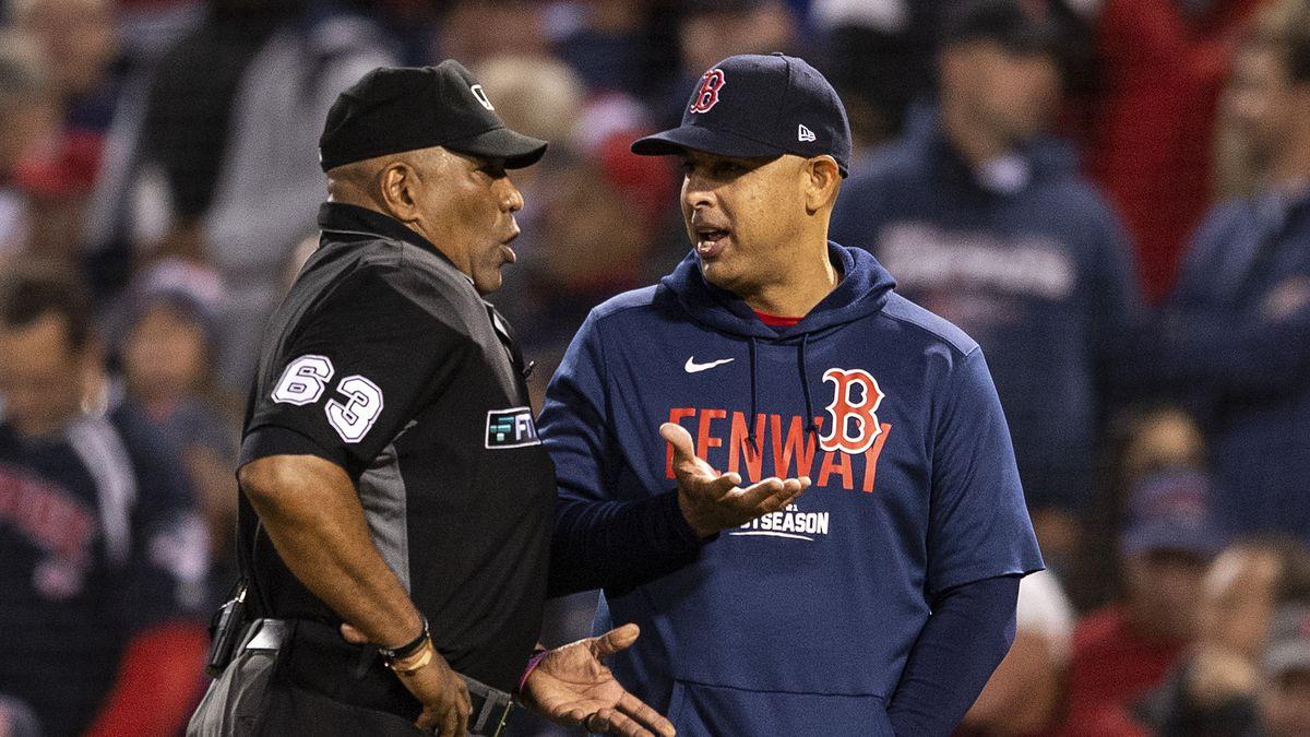 Championship Series - Houston Astros v Boston Red Sox - Game Four