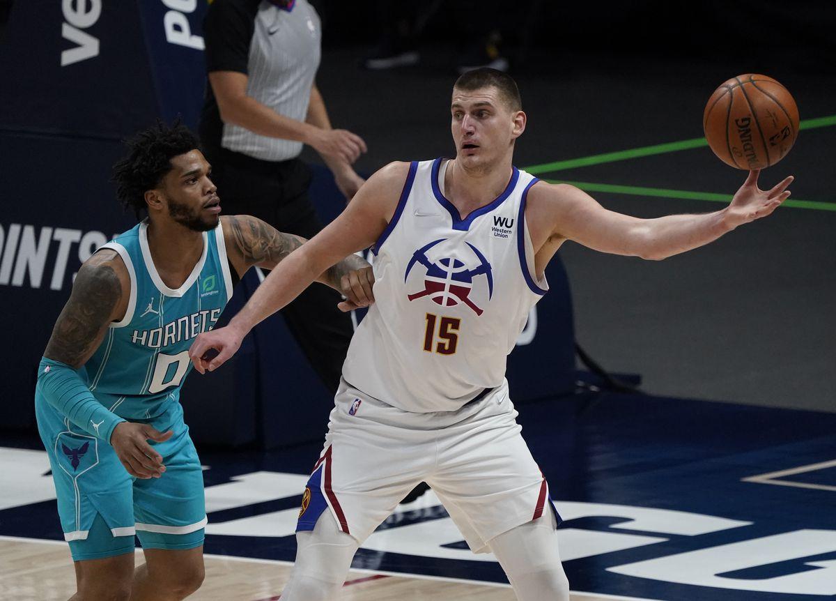NBA: Charlotte Hornets at Denver Nuggets