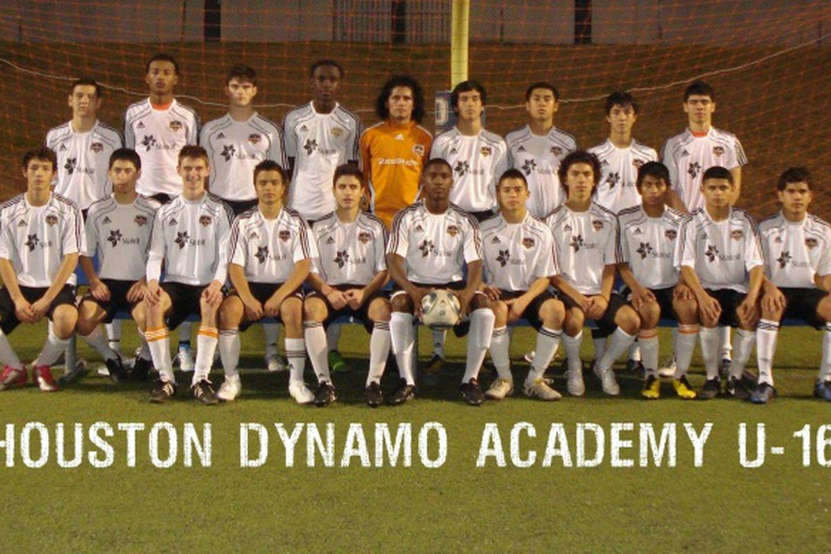 Dynamo Academy - U16  (Image courtesy of HoustonDynamo.com)