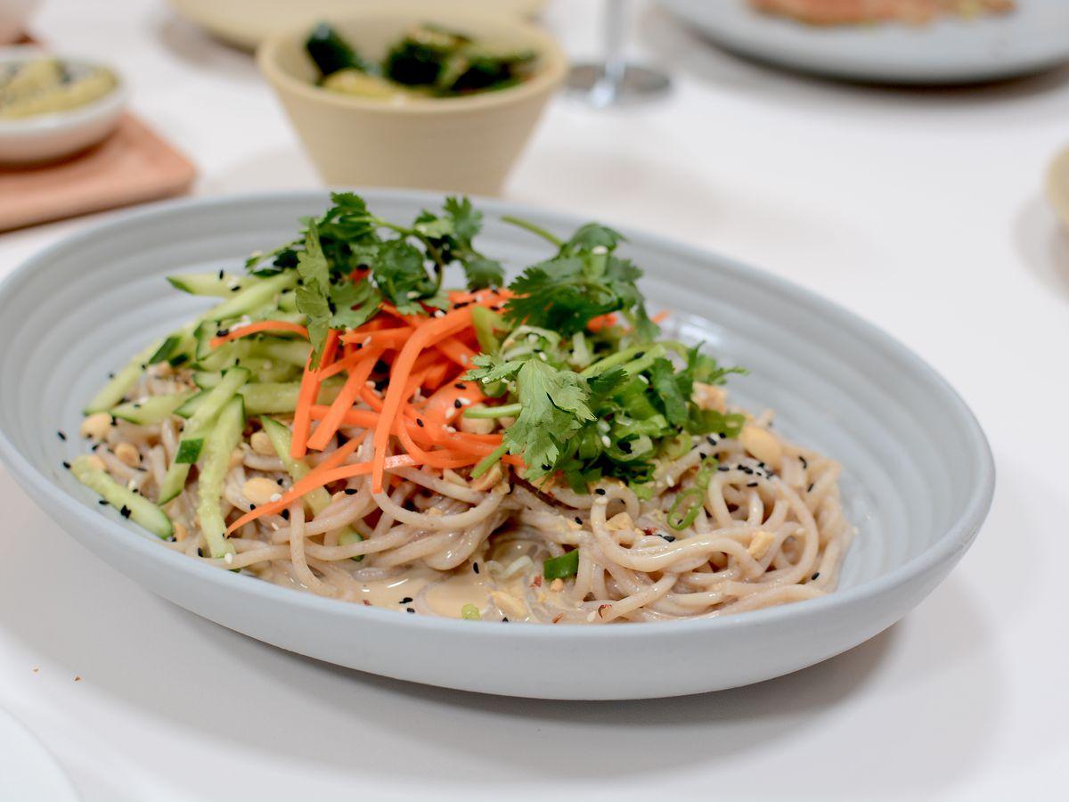 Cold sesame noodles at Yang's Kitchen in Alhambra.