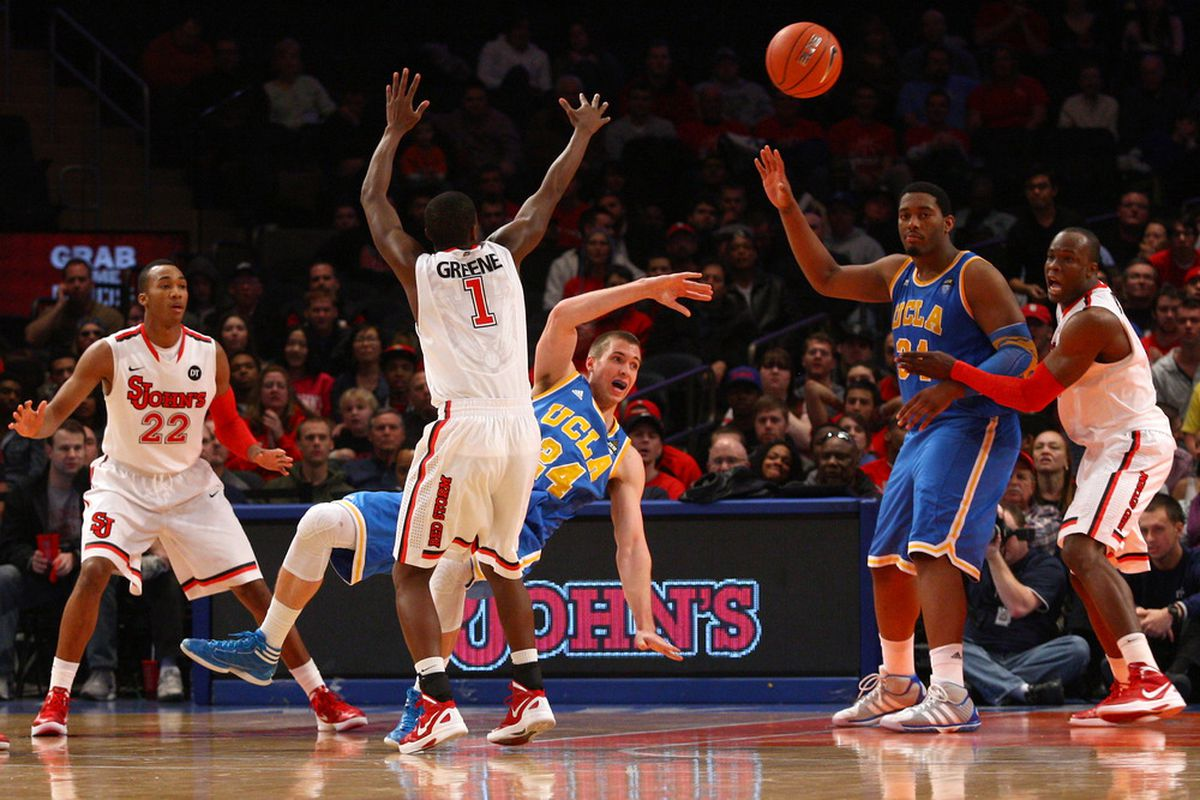 Can you all feel the excitement around UCLA basketball?!  (Photo by Chris Chambers/Getty Images)