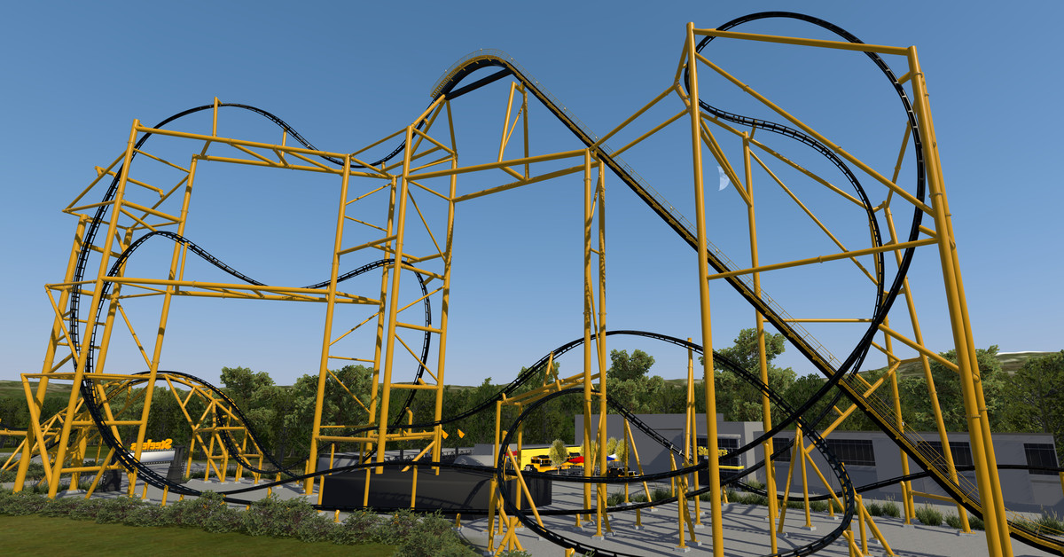 Steelers-themed roller coaster close to completion at Kennywood Park