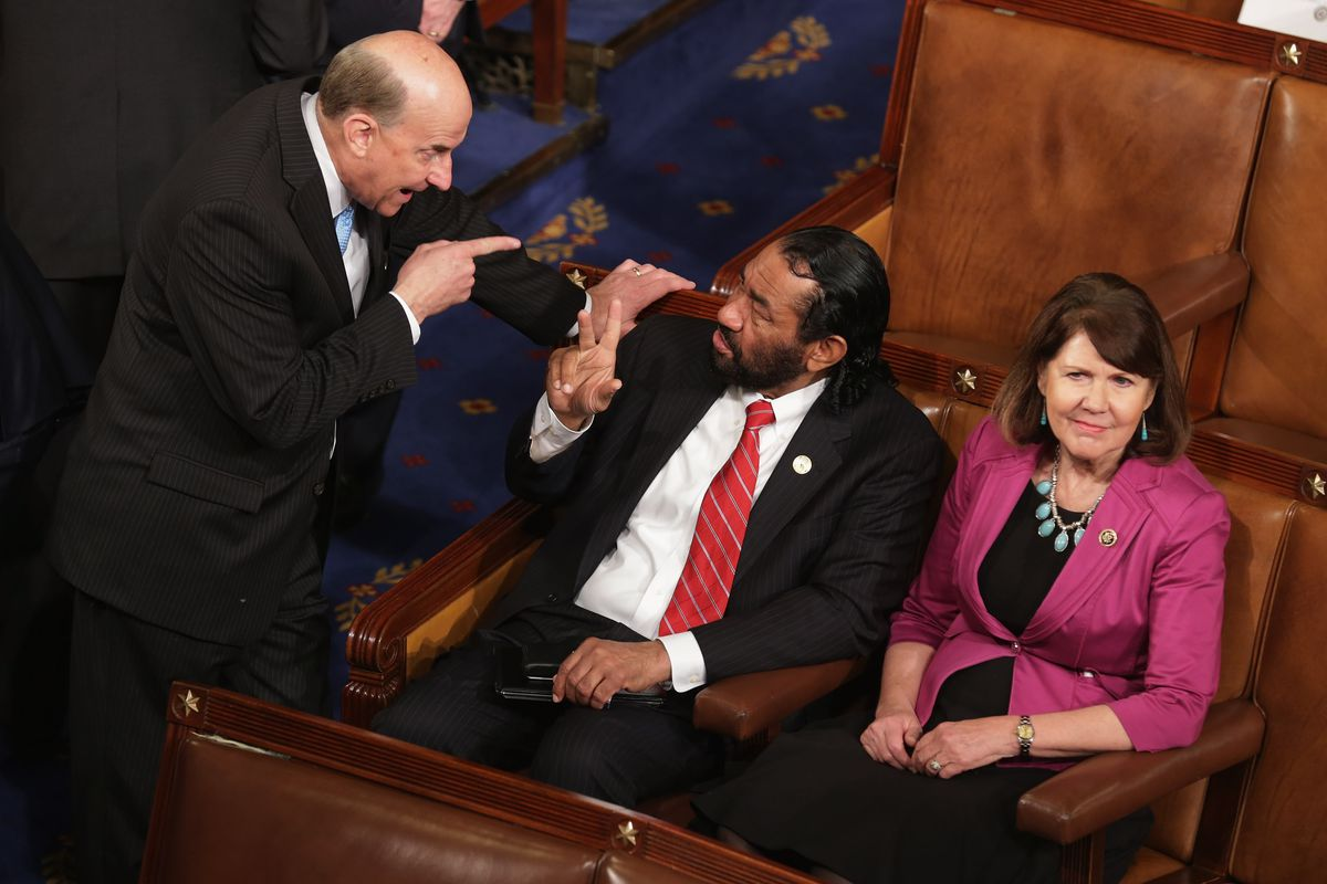 Lawmakers Convene For Opening Of The 114th Congress