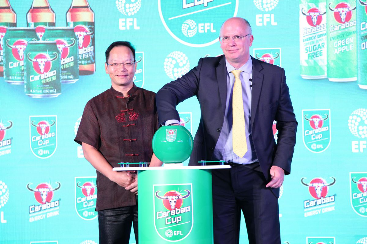 England Football Carabao Cup Draw Ceremony & Press Conference