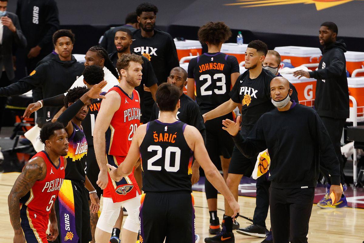 Final Score Phoenix Suns Blast New Orleans Pelicans 111 86 Bright Side Of The Sun