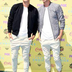Aaron and Austin Rhodes