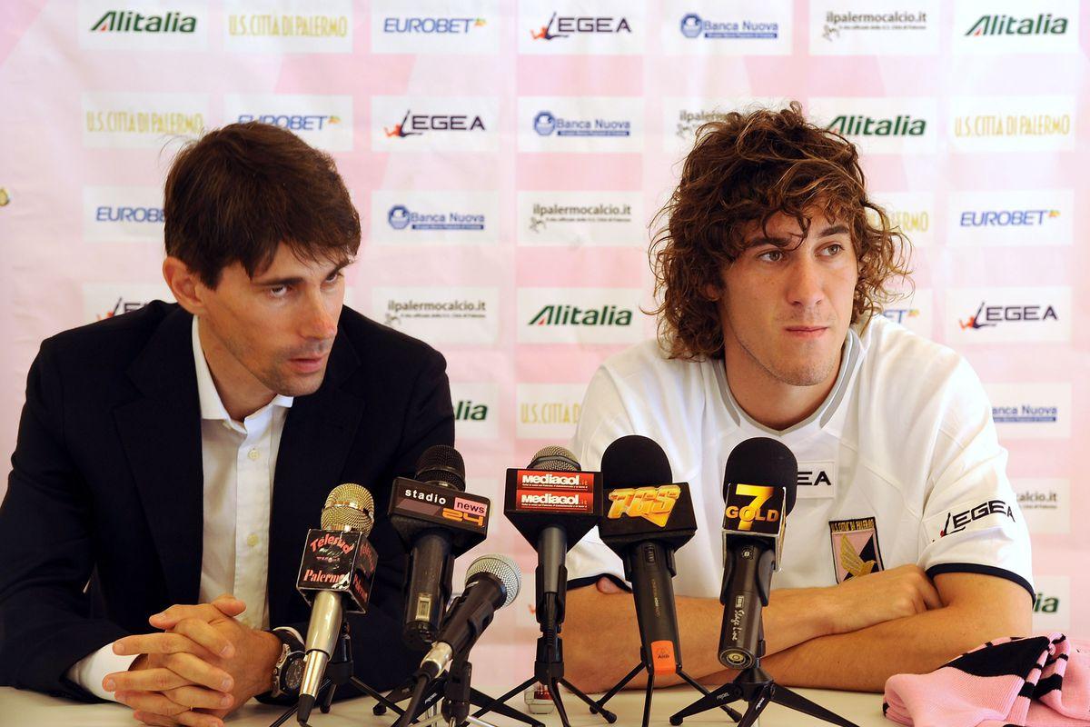 US Citta di Palermo Training Session & Press Conference - Pre Season