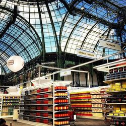 """The Chanel grocery store. Photo via Fran Burns/<a href=""""http://instagram.com/p/lHhfTuqOOY/#"""">Instagram</a>."""