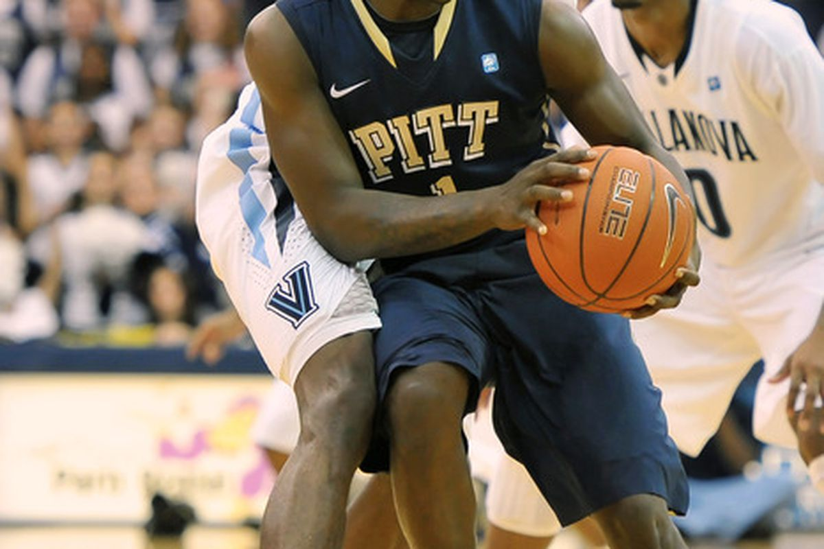 Tray Woodall and Pitt take on Villanova at the Pete on Sunday (Photo by Drew Hallowell/Getty Images)