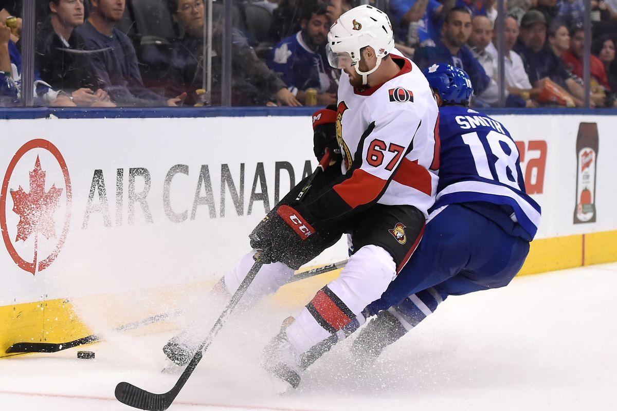NHL: Preseason-Ottawa Senators at Toronto Maple Leafs