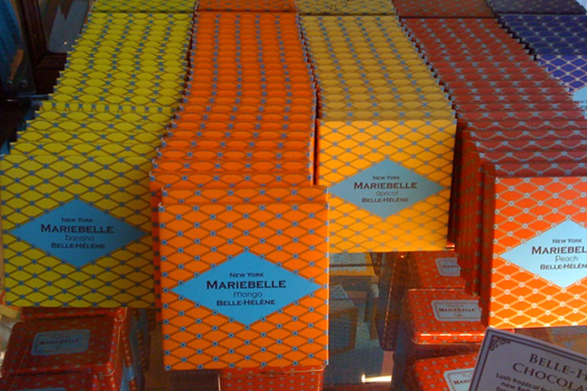 """Psychedelic Mariebelle chocolates via <a href=""""http://www.flickr.com/photos/shoptometrist/4004537273/in/pool-rackedny"""">The Shoptometrist</a>/Racked Flick Pool"""