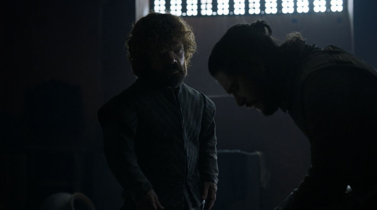 Game of Thrones S08E06 Jon and Tyrion