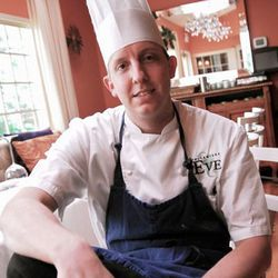 Jeremy Hoffman, Chef de Cuisine at Restaurant Eve in Alexandria, VA. [Photo courtesy Restaurant Eve]