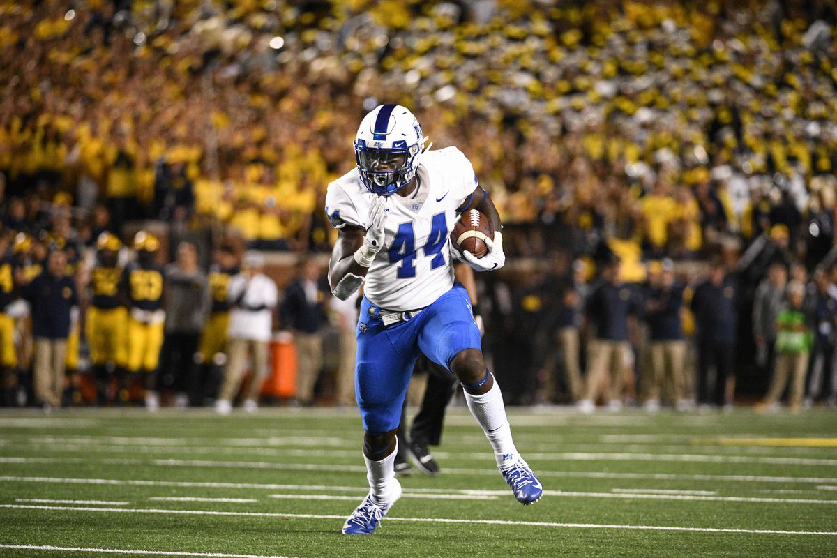 NCAA Football: Middle Tennessee at Michigan