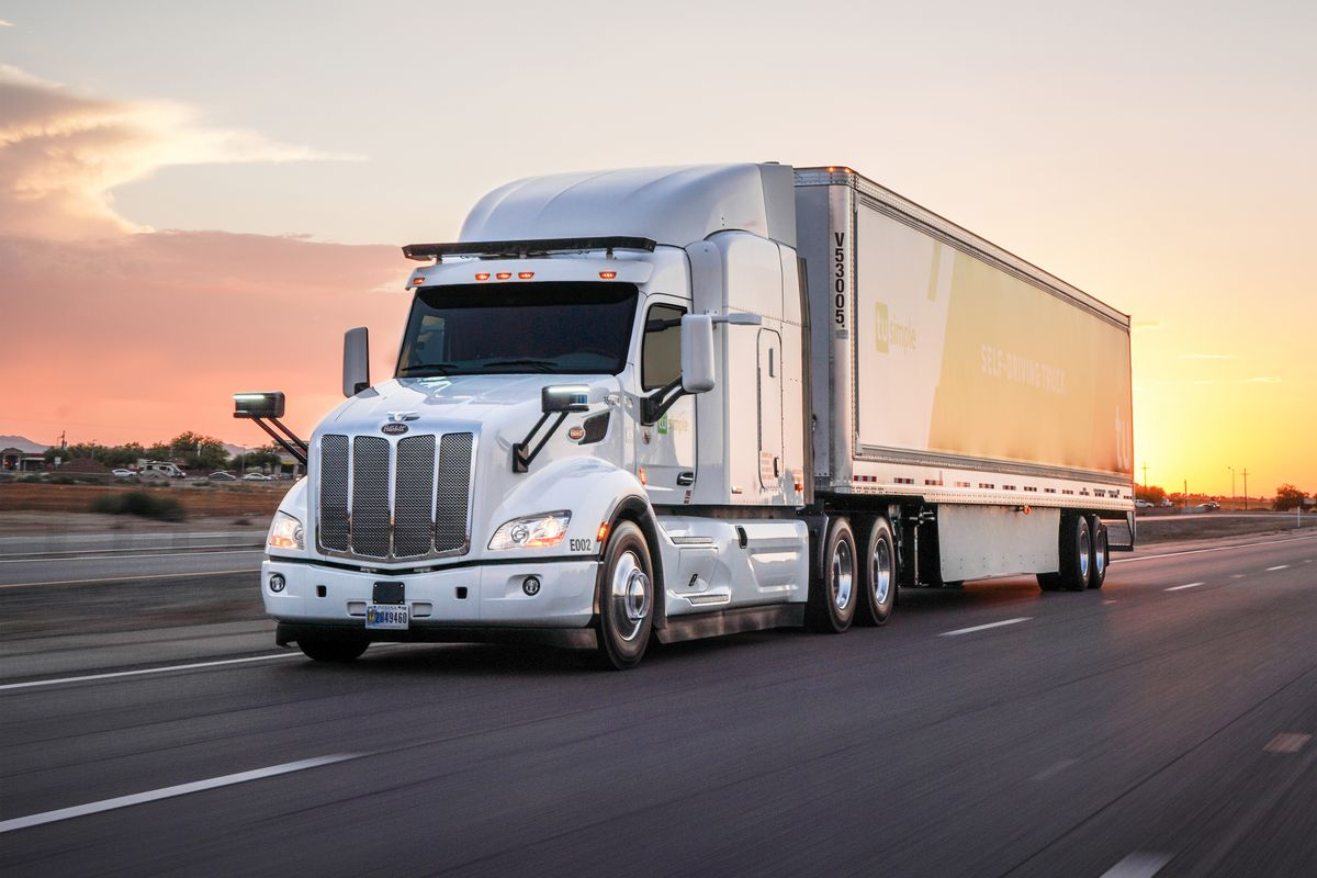 Usa Truck Spiegels.Ups Has Been Quietly Delivering Cargo Using Self Driving