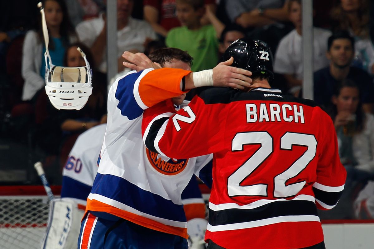 Krys Barch's highlight of the preseason.  Also: He didn't win this fight either.