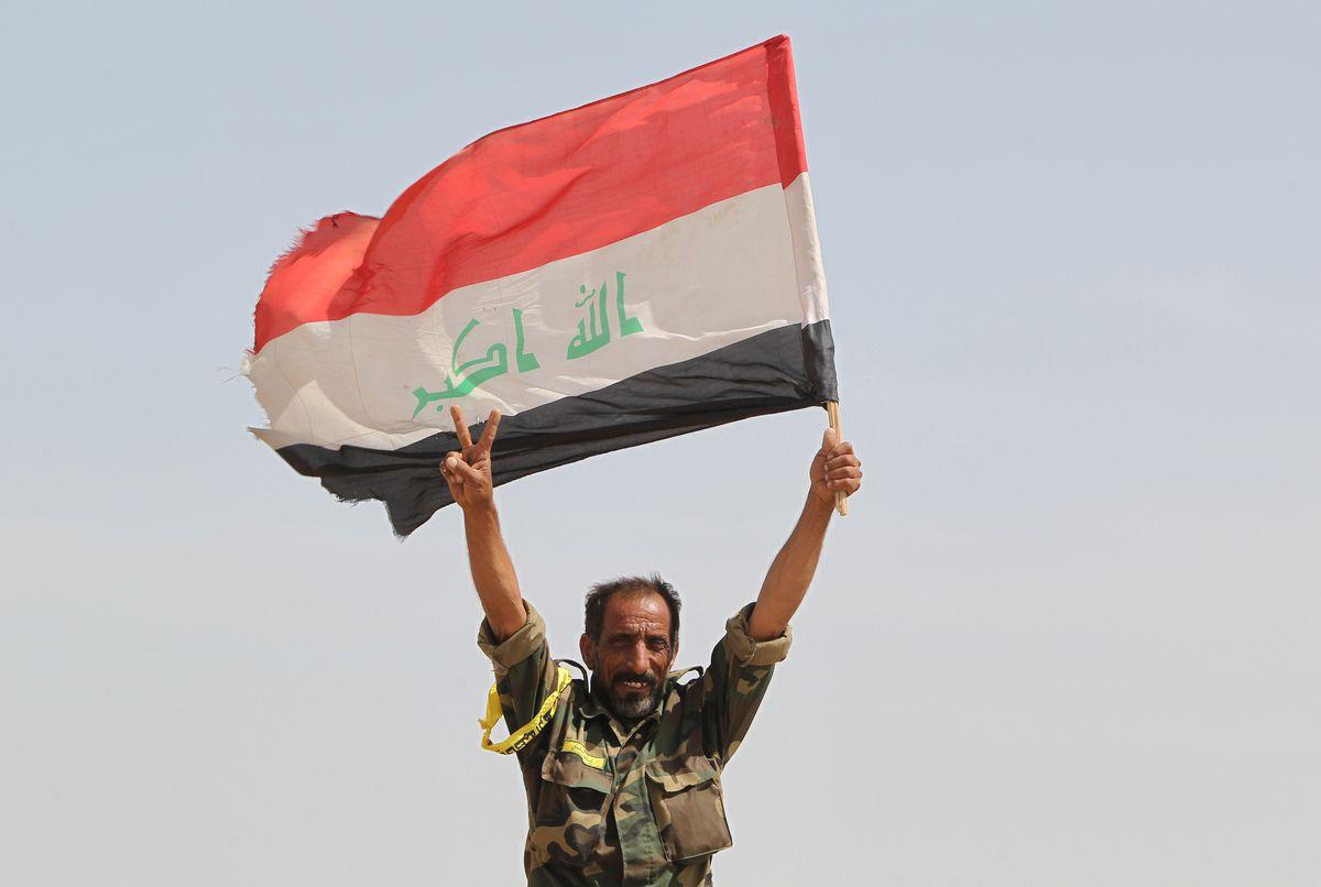 An Iraqi Shia militaman near Baghdad (AHMAD AL-RUBAYE/AFP/Getty)
