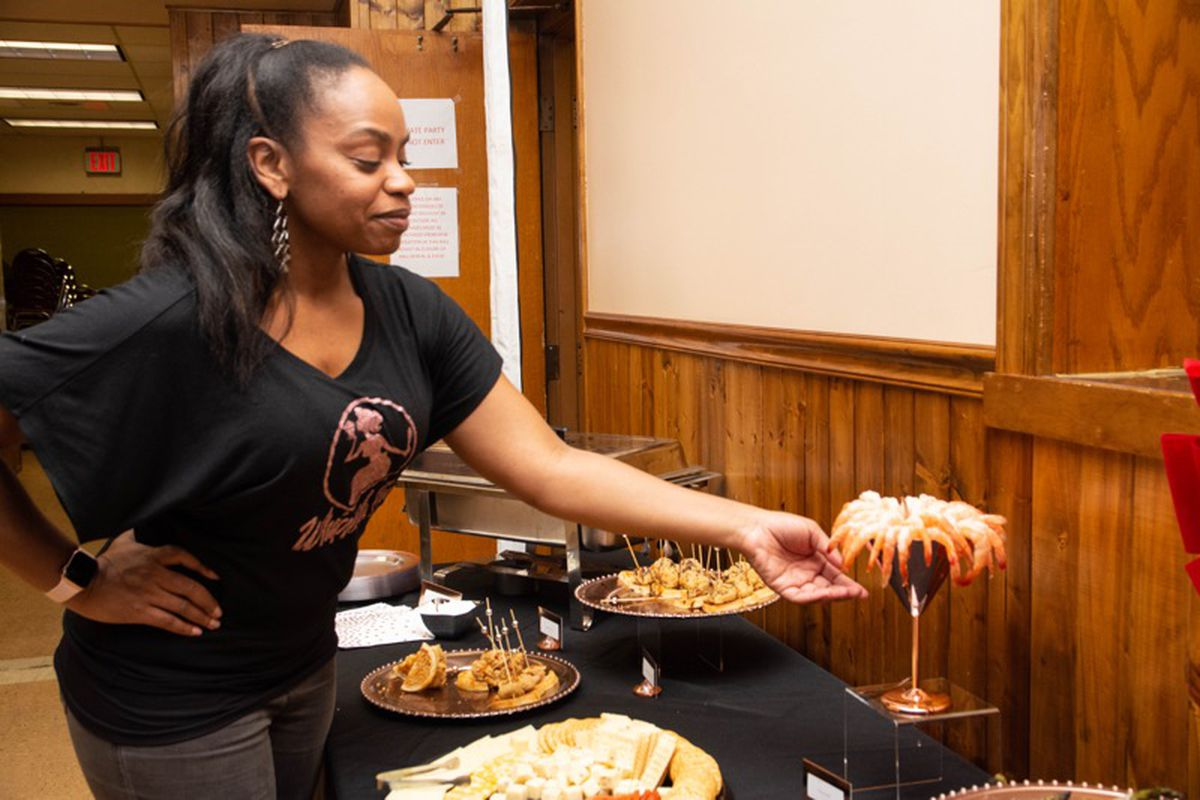Jacqulyn Hill, owner of Whipped Inc., will sell her gourmet desserts and appetizers during this year's Chicago Black Restaurant Week.