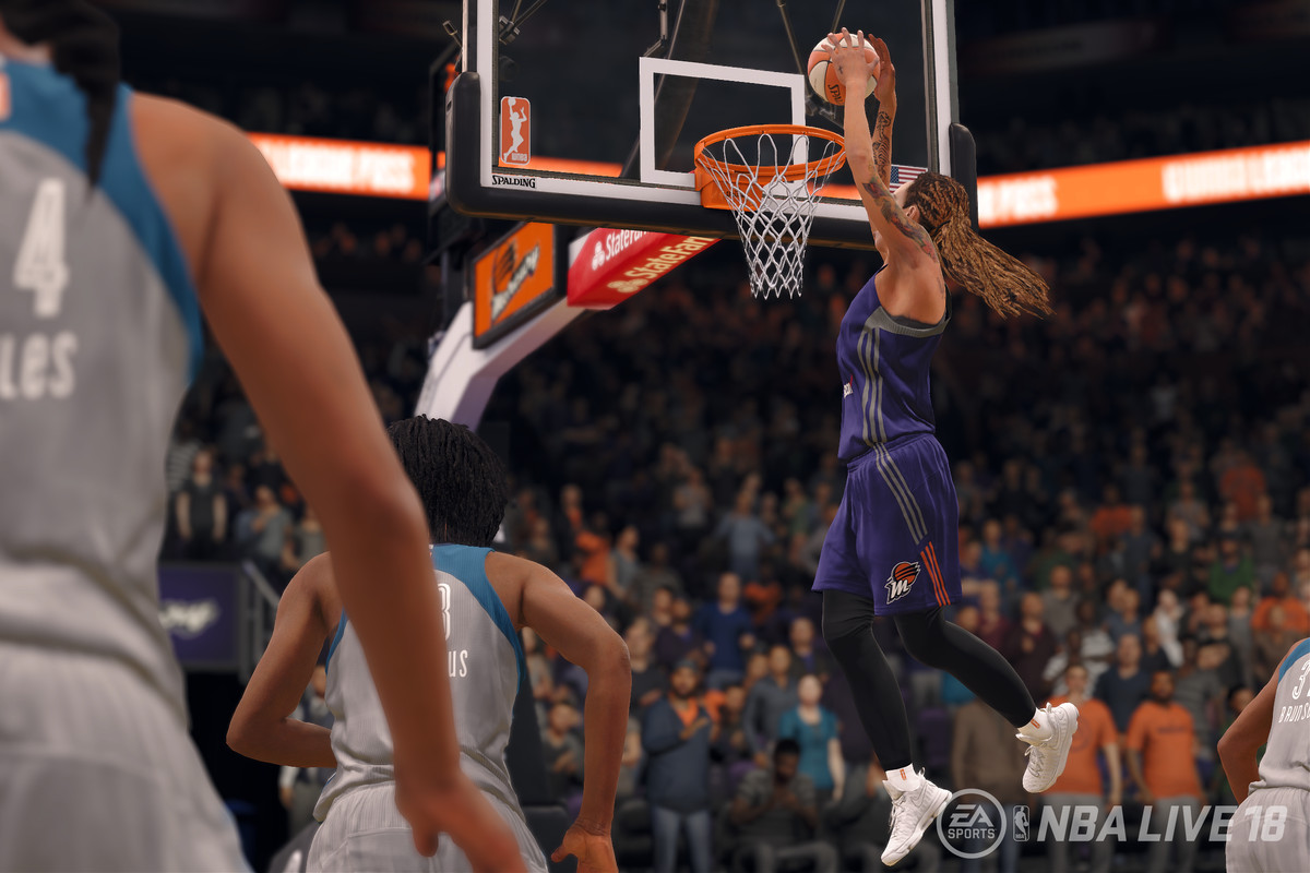 WNBA Teams Join NBA Live For The First Time