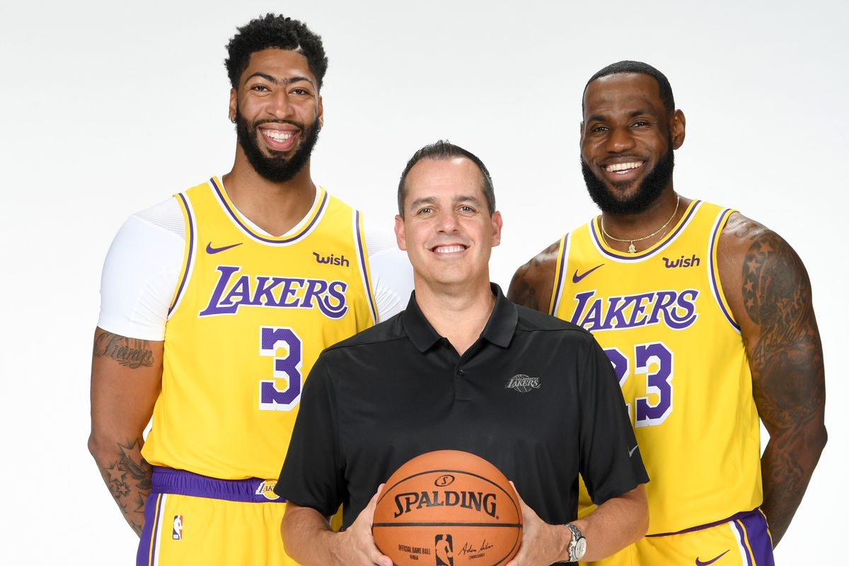 Lakers News Frank Vogel Believes Lebron James And Anthony