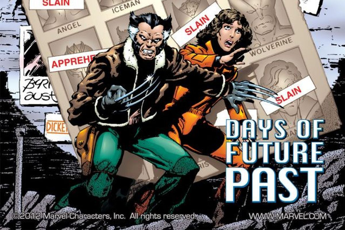 X-Men: Days of Future Past cover