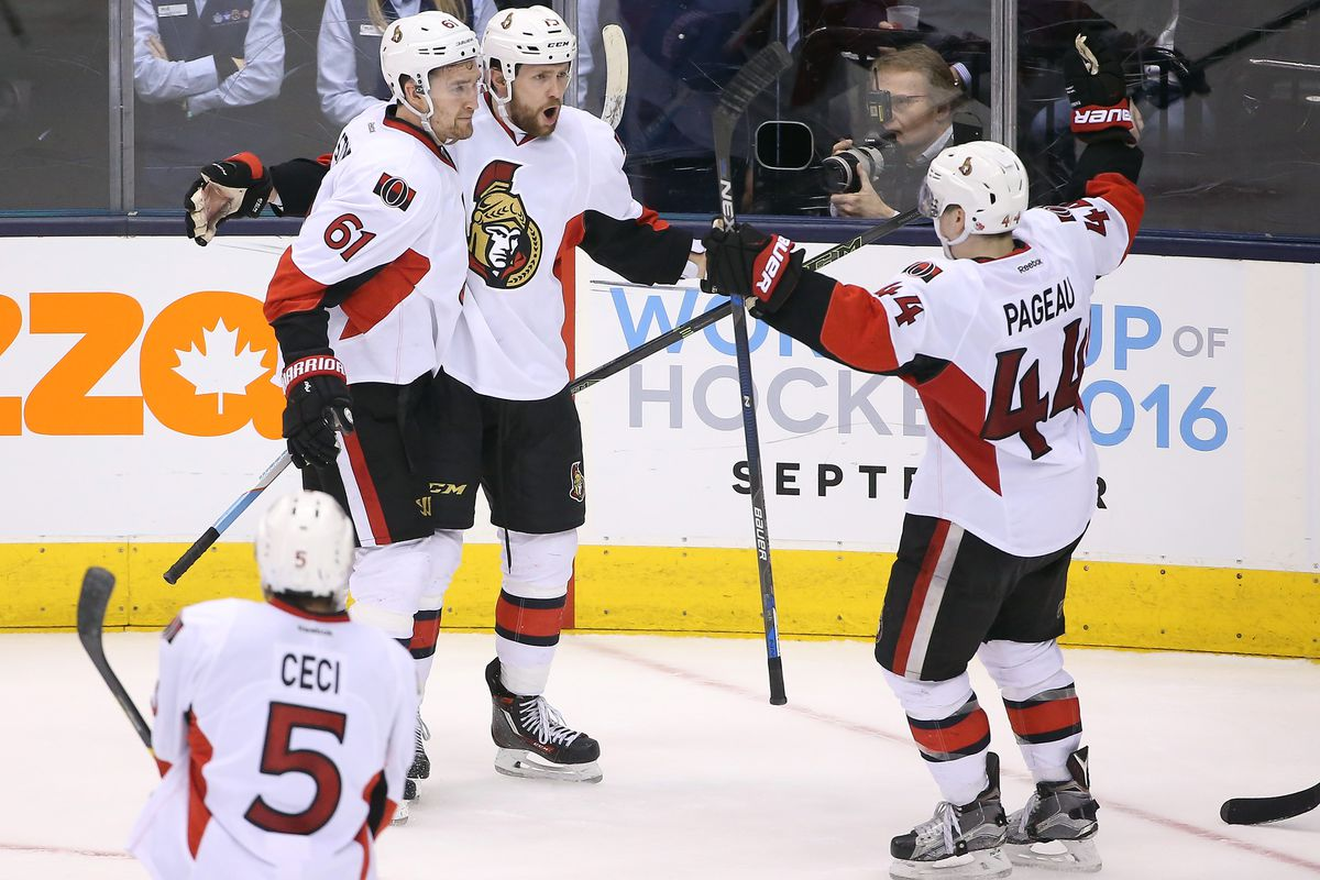 Smith-Pageau-Stone have basically been Ottawa's biggest gainers for 2016