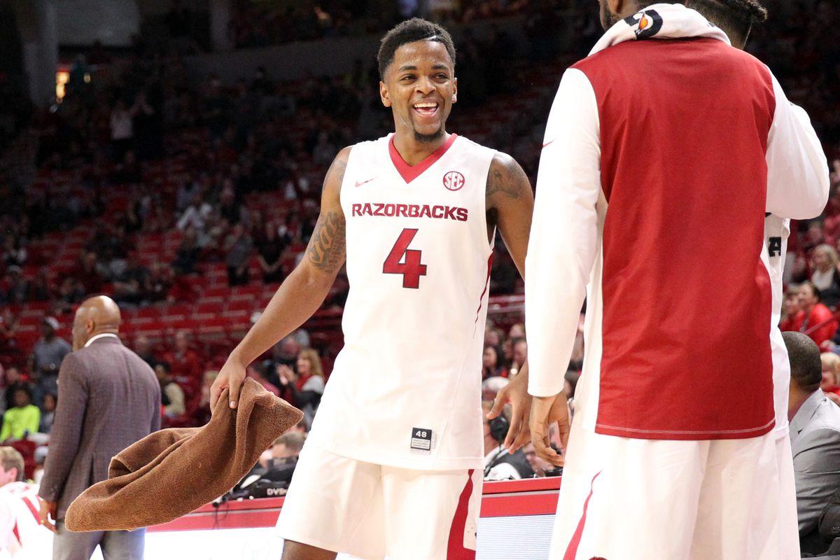 NCAA Basketball: Oral Roberts at Arkansas