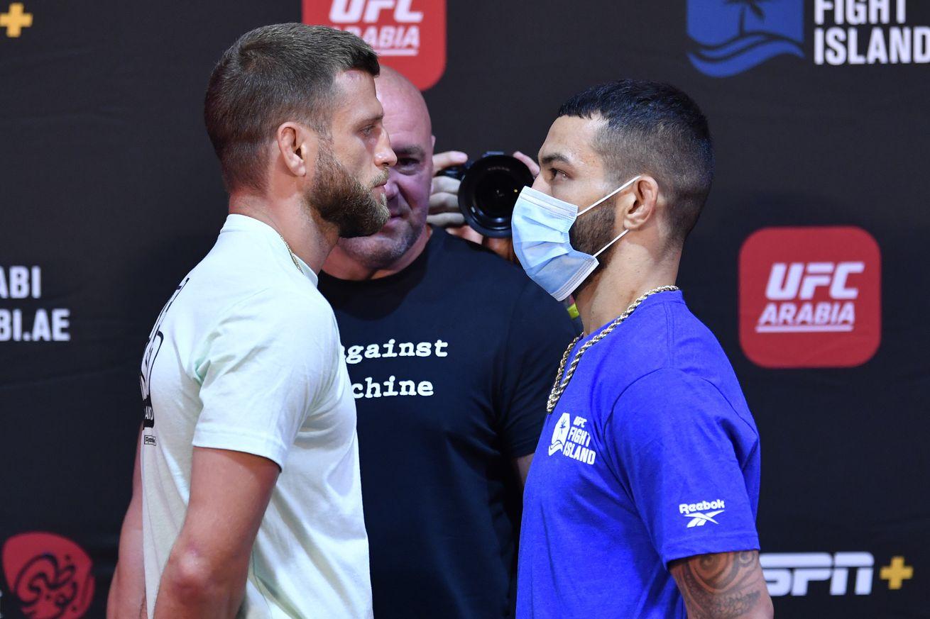 UFC Fight Night: Kattar v Ige Weigh-in