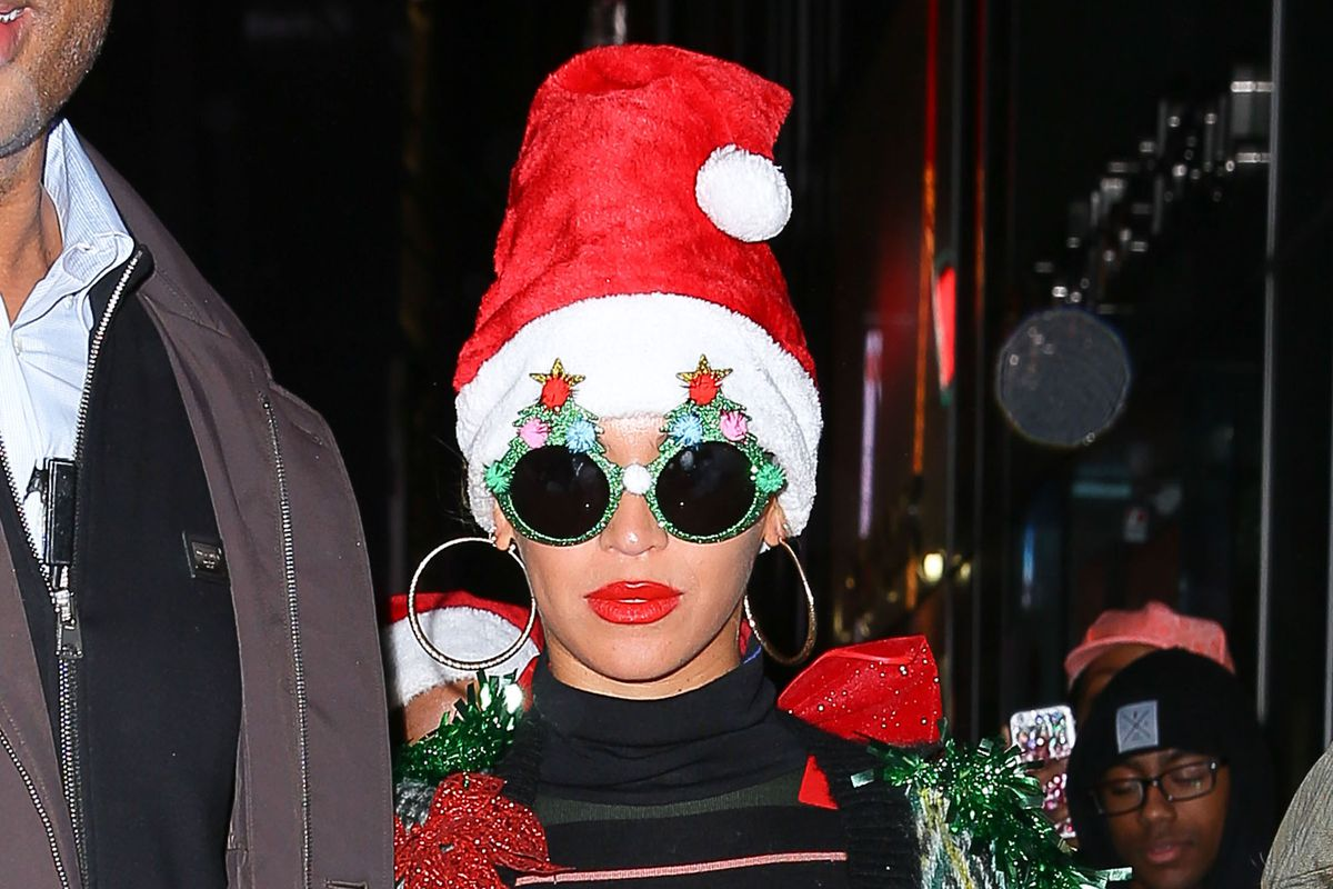 Beyoncé Went Full Christmas Tree for Her Holiday Office Party - Racked