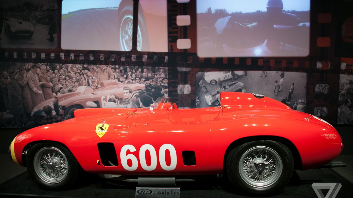 An Unbelievable Collection Of Rare Cars Just Set Records At A New