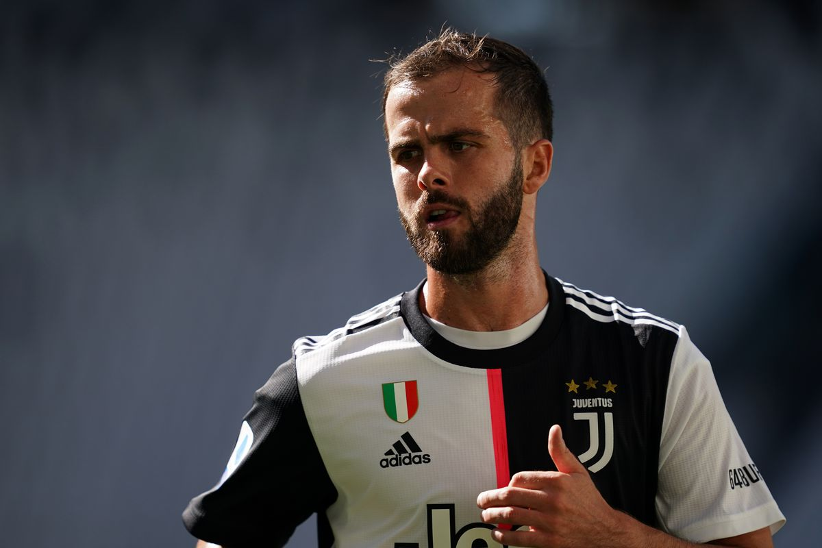 Miralem Pjanic of Juventus FC during the Serie A match...