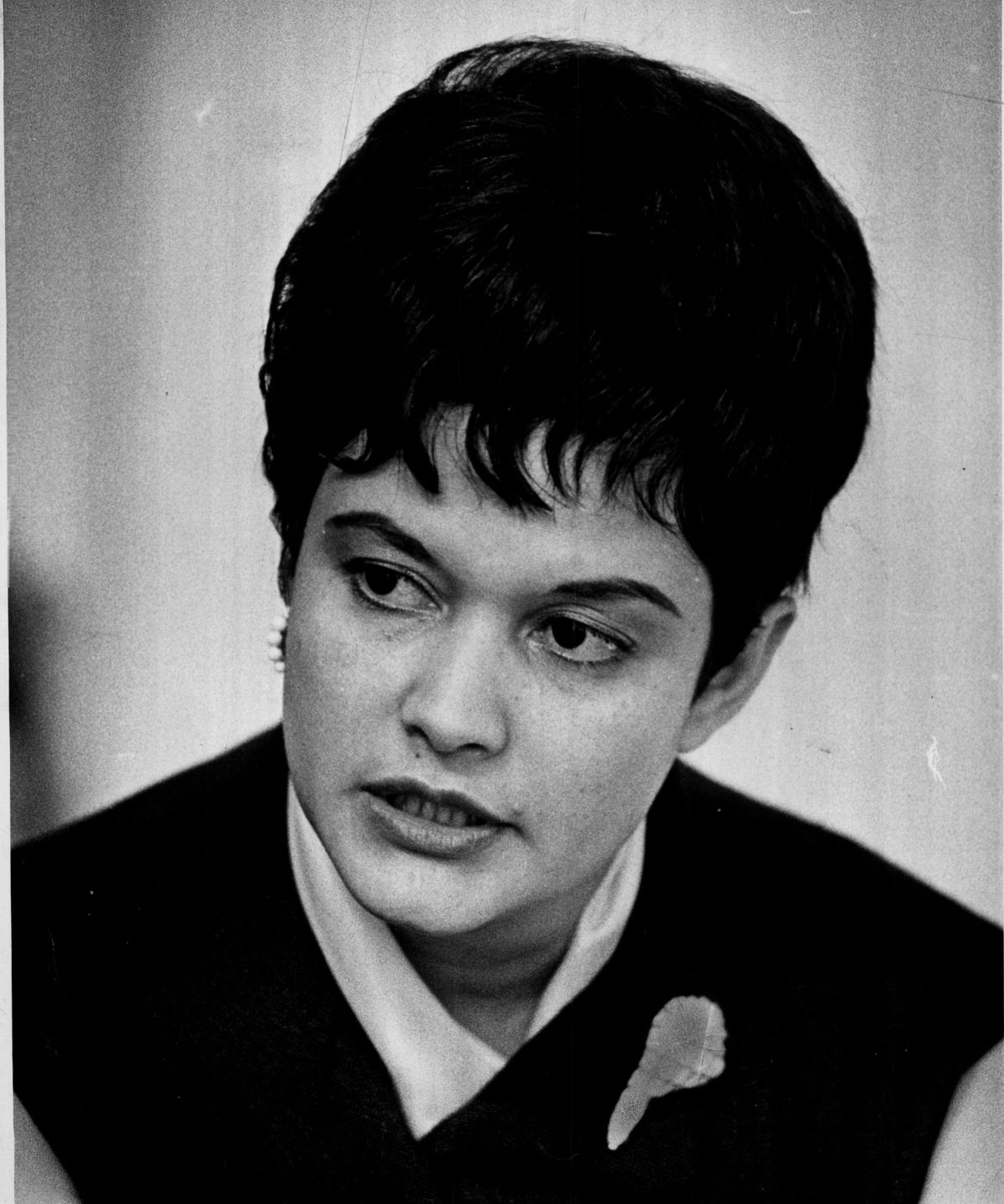 María Cerda in 1972 during her time on the Chicago Board of Education.