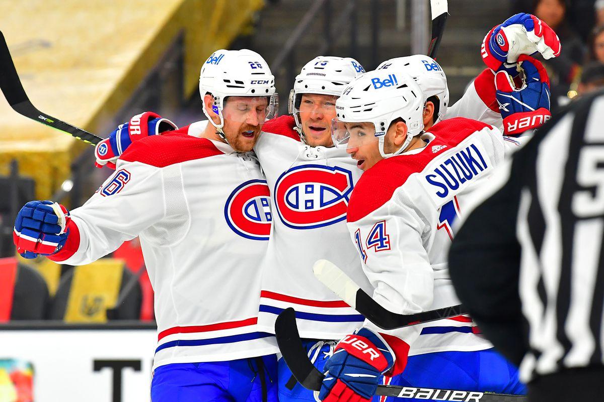 NHL: Montreal Canadiens at Vegas