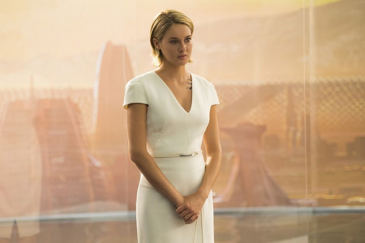 Shailene Woodley in The Divergent Series: Allegiant.