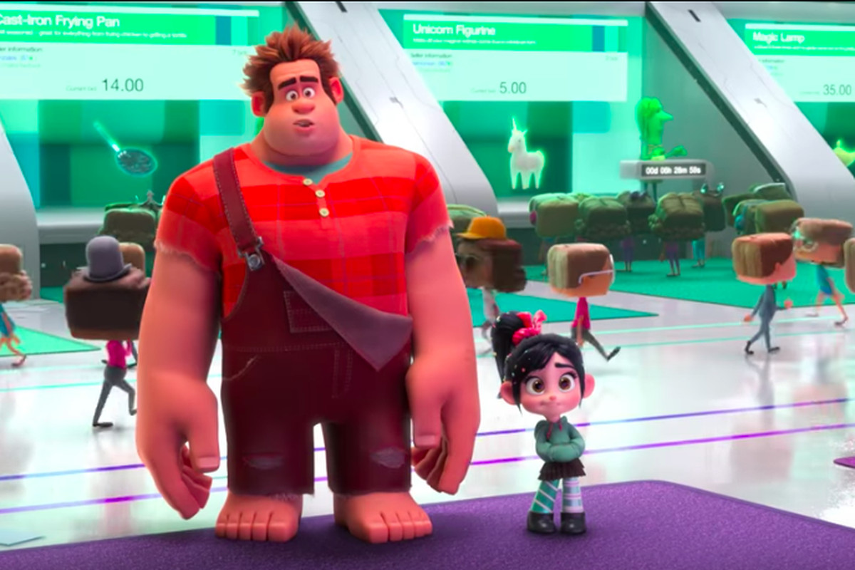 New trailers: Fahrenheit 451, Wreck-It Ralph 2, and more ...Wreck It Ralph Trailer 3