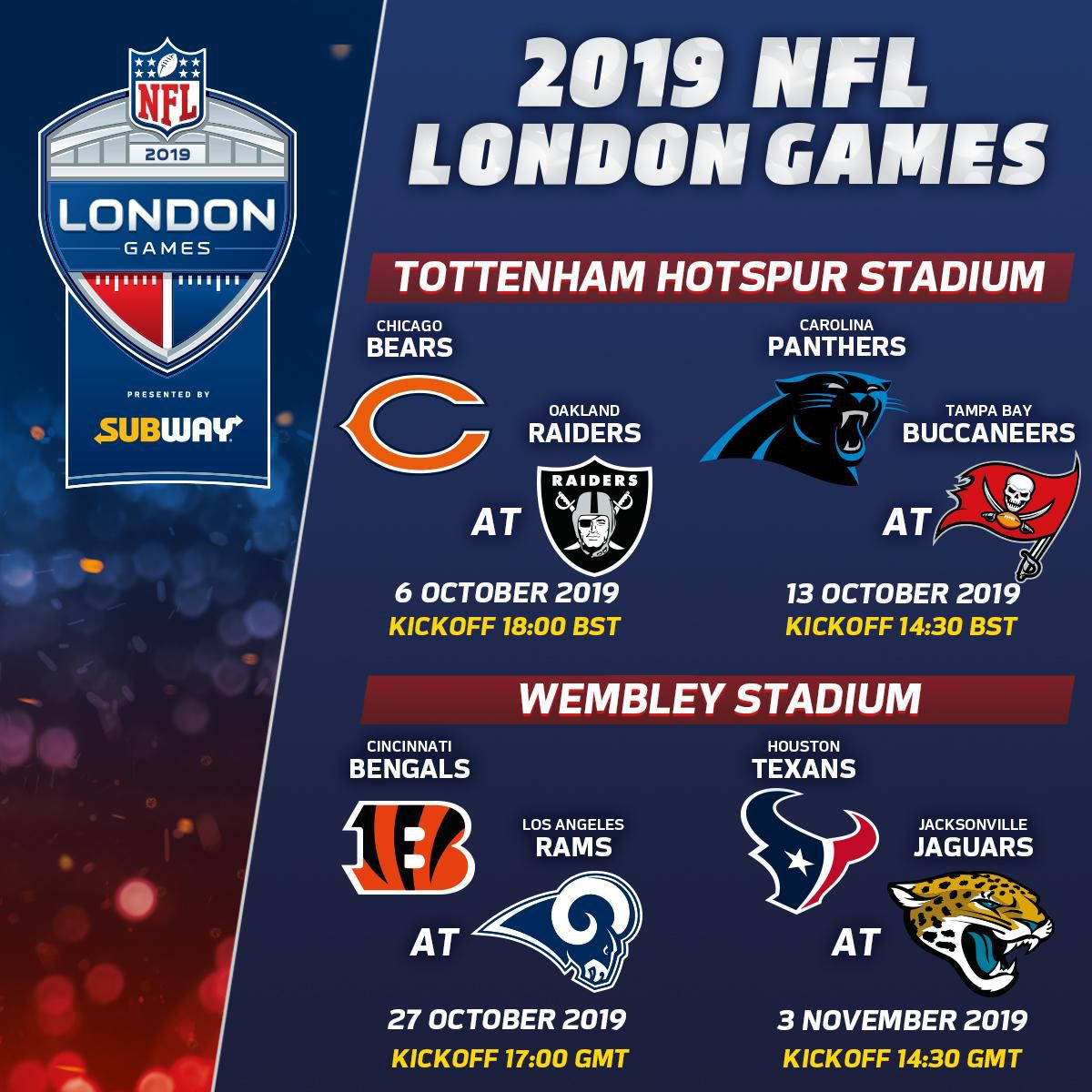 Nfl Games In London