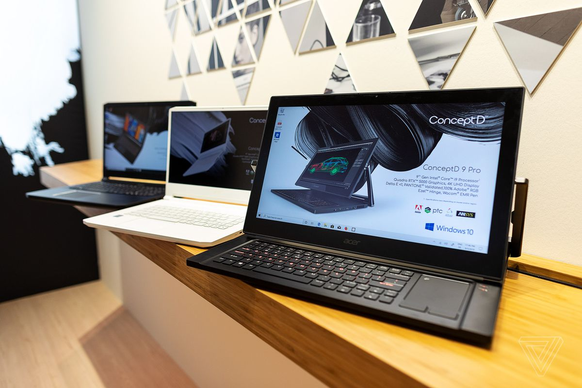 Acer's laptops for creators updated with latest Quadro