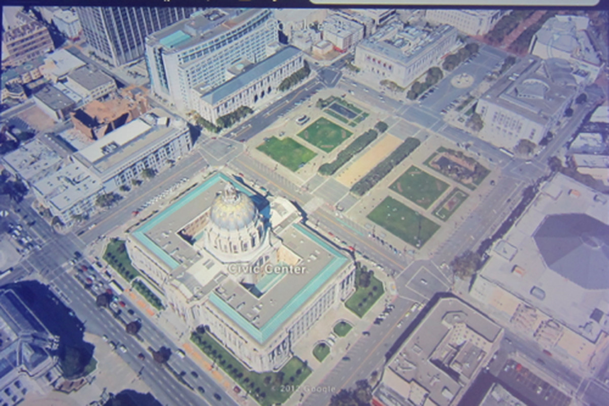 Google Earth To Get Radically Better D Images New UI On IOS And - Google maps aerial view