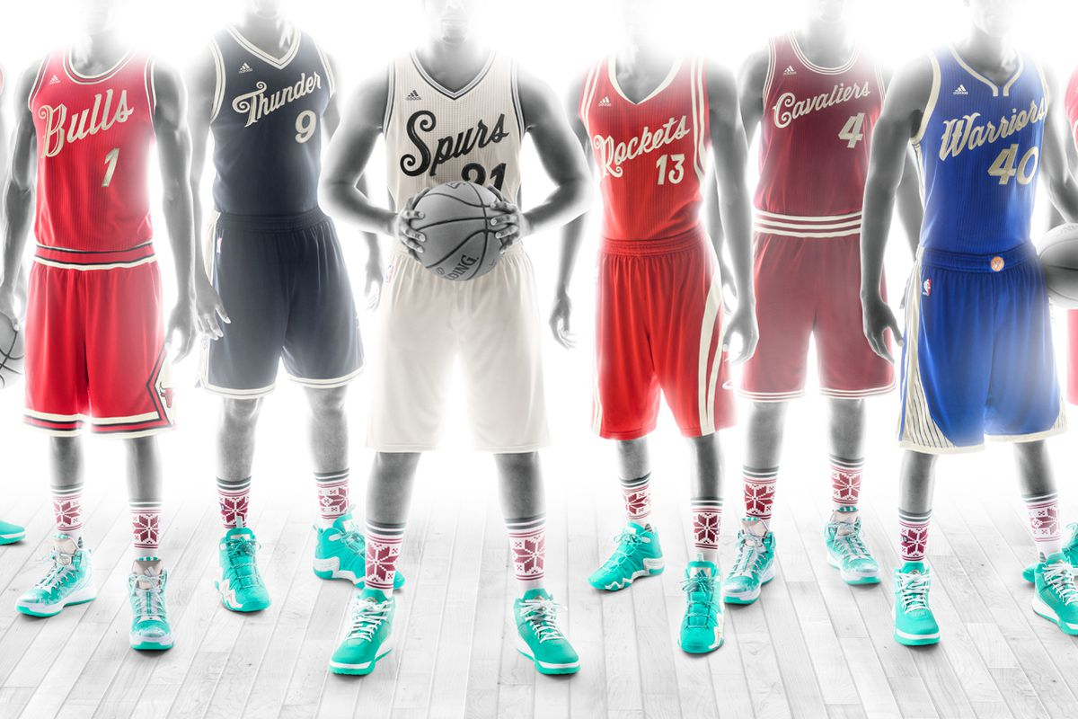 NBA Christmas jerseys 2015: Finally, a uniform that won't ...