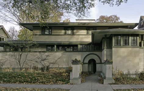 A walking tour of Frank Lloyd Wright s Oak Park Curbed Chicago
