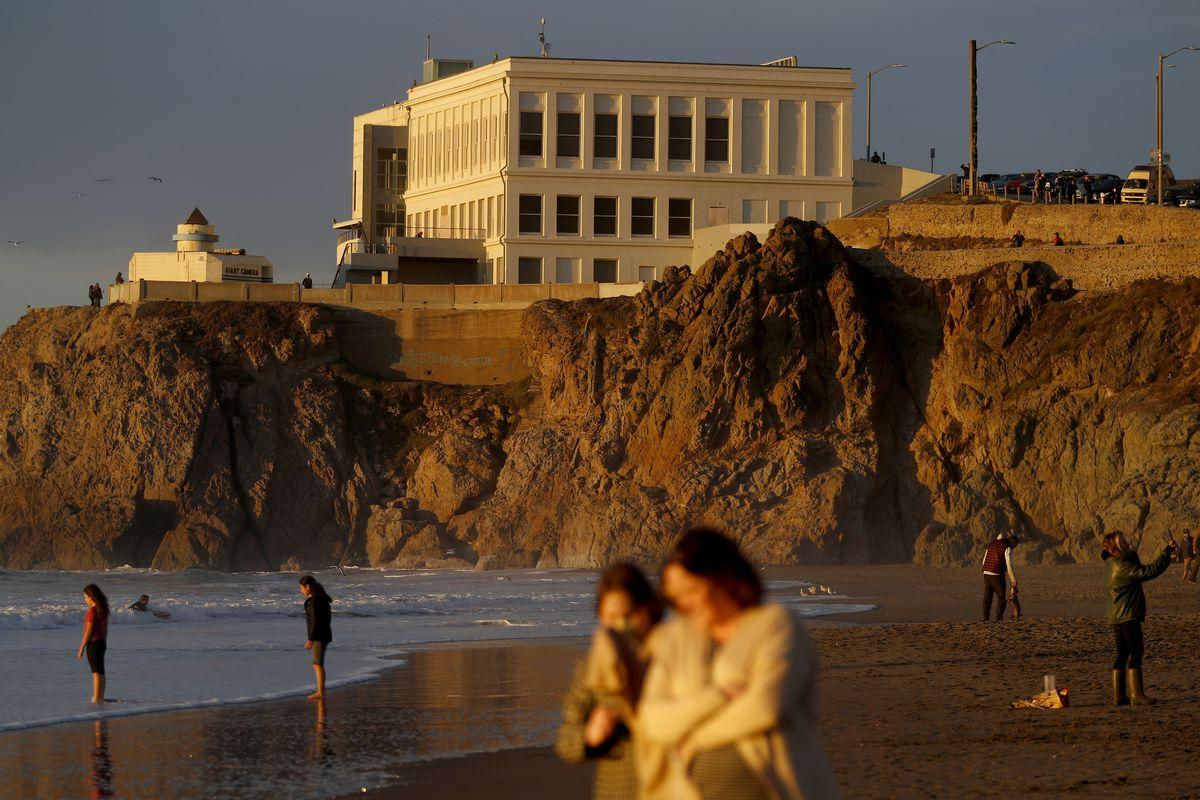 Solstice Sunset Ocean Beach