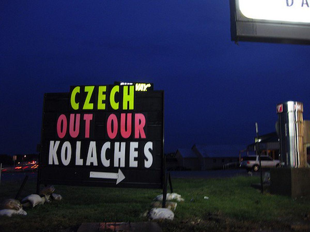 Czech Stop, West, Texas.