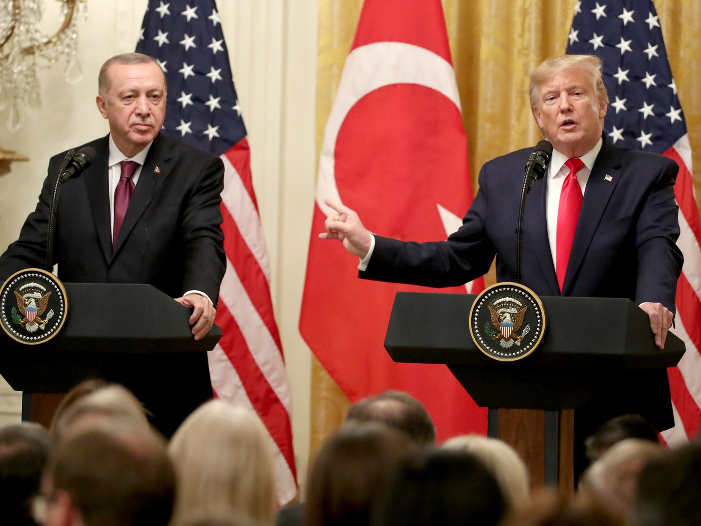 Trump Erdogan Meeting 2 Unsettling Moments From Their Press Conference Vox