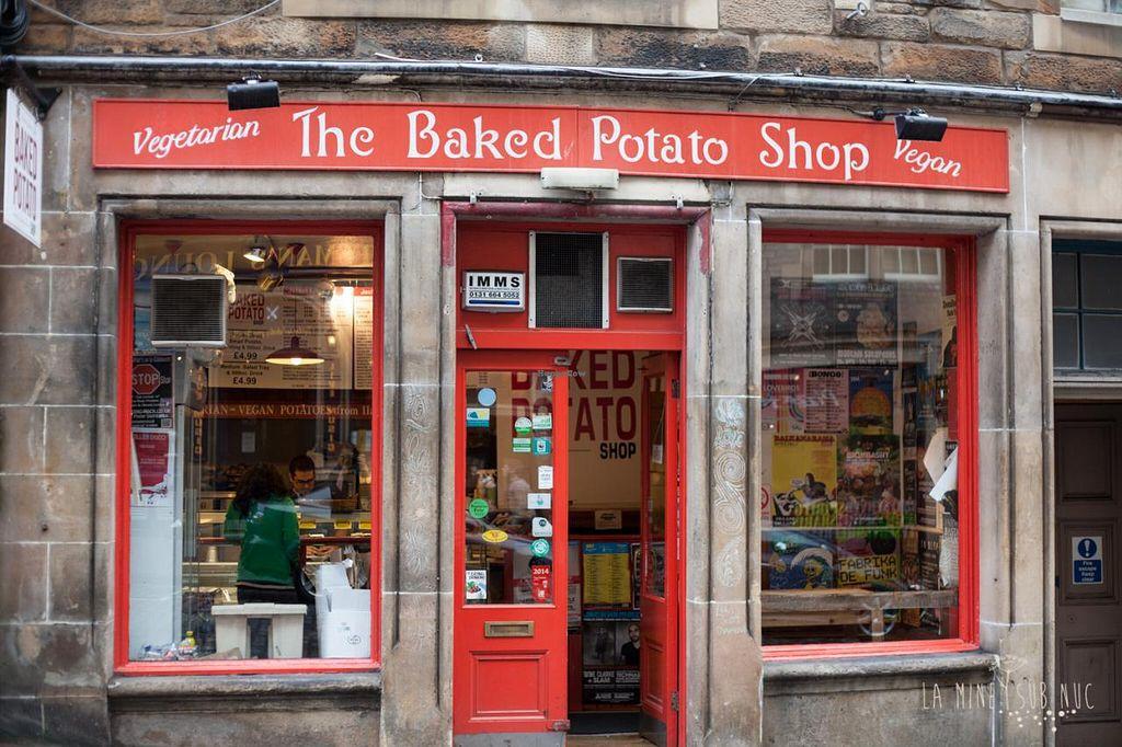 Best restaurants at Edinburgh Fringe Festival 2019 include The Baked Potato Shop